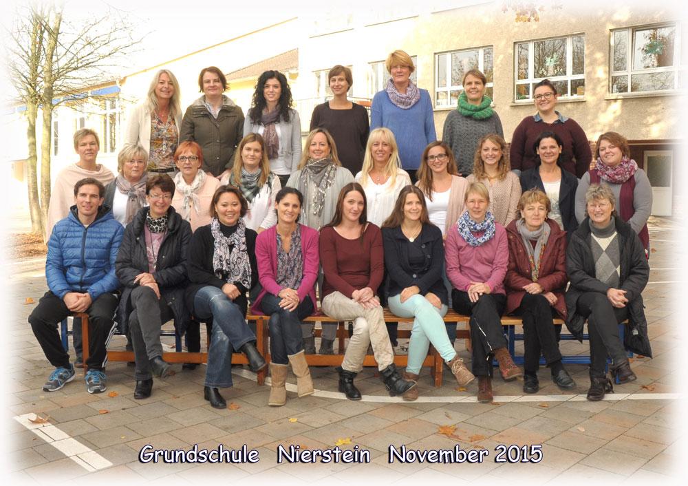 Das Kollegium der Grundschule Nierstein